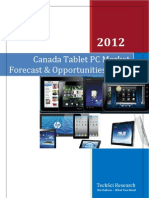 Canada Tablet PC Market Forecast and Opportunities 2016