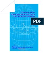 2005 10 00 Panduan Teknis Transformasi Datum+SistKoordinat P