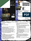 Malifaux - Arcanists v2 cards