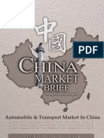 Automobile Transport Market in China Market Brief
