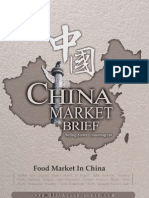 Food Market in China - Market Brief