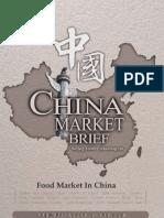 Food Market in China - Market Brief