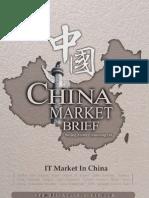IT Market in China - Market Brief