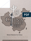 Metal Market in China - Market Brief