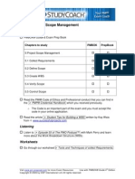 PMP Study Action Sheet