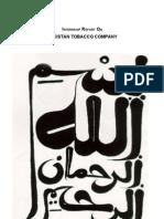 Pakistan Tobaco Report