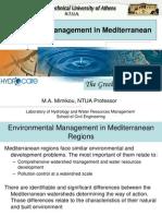 Watershed Management in Mediterranean