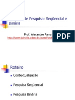 Cap4 Metodo Pesquisa Sequencial Binaria