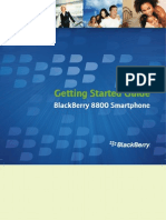 BlackBerry 8800 Smartphone - Getting Started Guide (version 4 2 1)