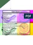 Gain Score in Data Analysis