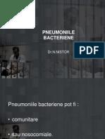 Pneumonii Bacteriene-An v 13.X.2011