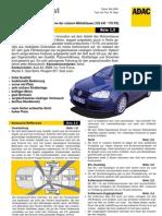 VW Golf TSI GT ADAC test