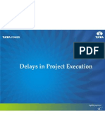 Delays in Project Execution