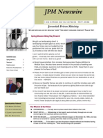 JPM May 2012 Newsletter
