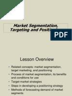 IMS Market Segmentation, Targeting and Positioning (2)