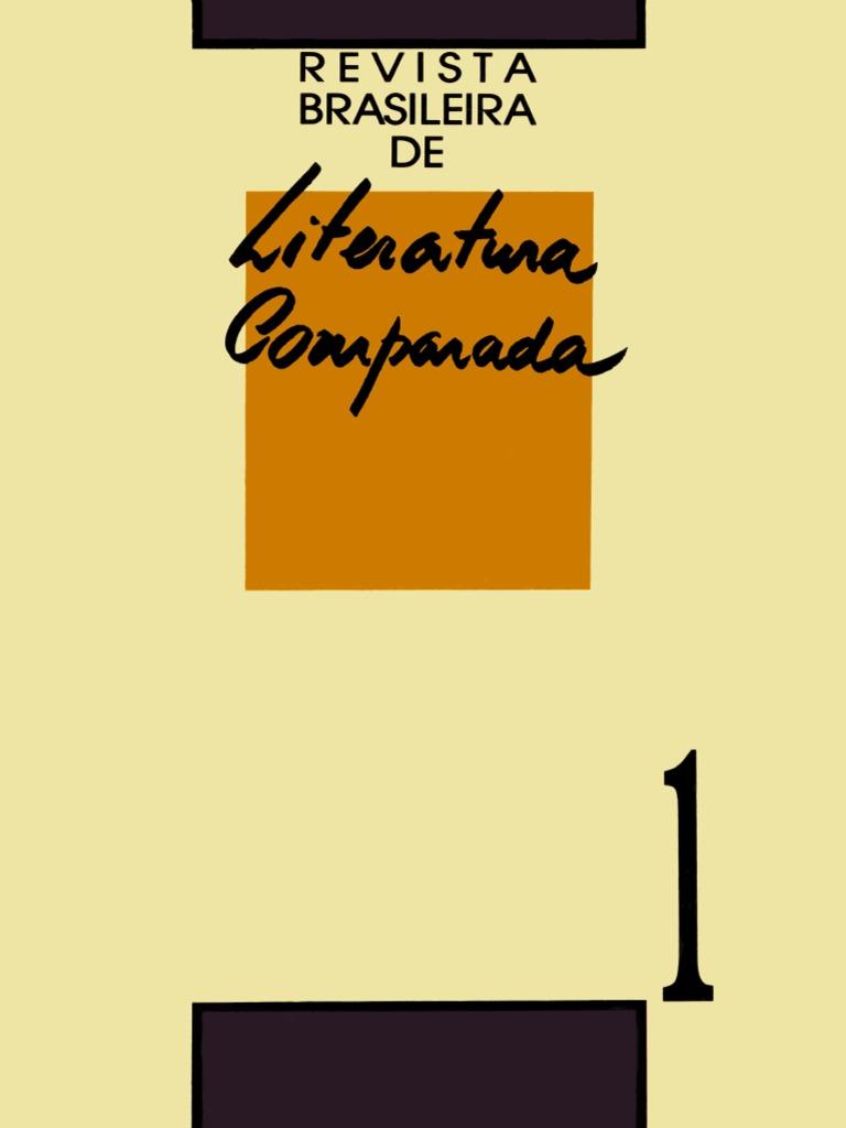 Revista Brasileira de Literatura Comparada - 01 2496c2bcd93c9