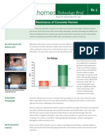 Concrete Homes Brief Energy Fire Resistance