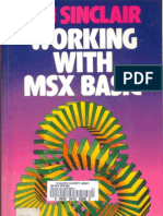 Ian Sinclair - Working With MSX BASIC