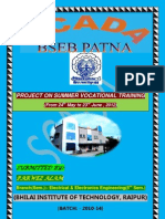 SUMMER VOCATIONAL TRAINING REPORT(BSEB, SCADA Patna)