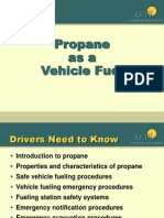Propane as a Vehicle Fuel