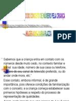 A CONSTRUÇÃO DO CONCEITO DE NÚMERO PELA CRIANÇA