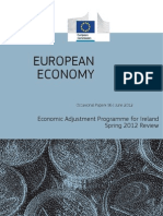 European Commission staff working paper on implemention of EU/IMF programme