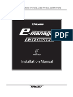 Greddy E-Manage Ultimate Installation