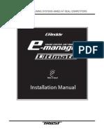 Greddy E-Manage Ultimate Installation