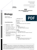 2006 CSSA Biology Trials