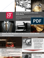 Recession and Japan Luxury Goods Market