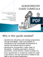 Agroforestry Guide Curricula