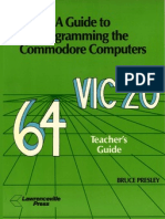 A Guide to Programming the Commodore Computers - Teacher's Guide (1984)