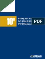 10a Pesquisa Nacional Seguranca Informacao