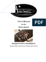 Dew Annihilator iDA-M User's Manual Rev2