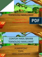 Contoh Hasil Bahan Teknologi Maklumat