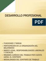 Powerpointo de Desarrollo Profesional 2012