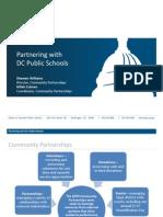 Partnering with DC Public Schools