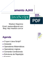 Treinamento AJAX - Modulo Javascript (1)