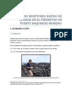 INFORME DE MONITOREO RÁPIDO DE IGUANAS