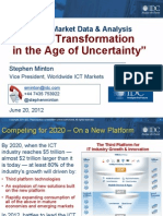 Stephen Minton - Tech Transformation in the Age of Uncertainty - SESERV SE Workshop June 2012