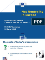 Vesa Terava - Net Neutrality in Europe - SESERV SE Workshop June 2012