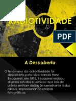 Slide - Radiotividade