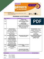 Programa - 2º Congreso Interdiciplinario de Género y Sociedad