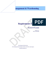Sample - Data Warehouse Requirements