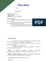 Proiectdelectie Stiinte Cl.aiii A