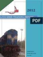Final Training Report (Turbocharger)