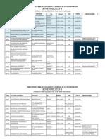 Horarios 2013-1 Maestría Presencial Plan 4089