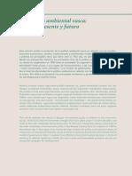 La política ambiental vasca