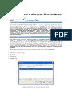 Movimiento de Desarrollo de Perfiles Uso de La API de Funciones de Alto Nivel de Bloquex