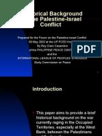 History Palestine Israel